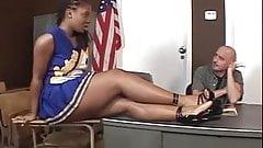 Hottest Ebony Cheerleader Fuck