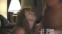 Old VHS Movie Cumming all over wifes Face