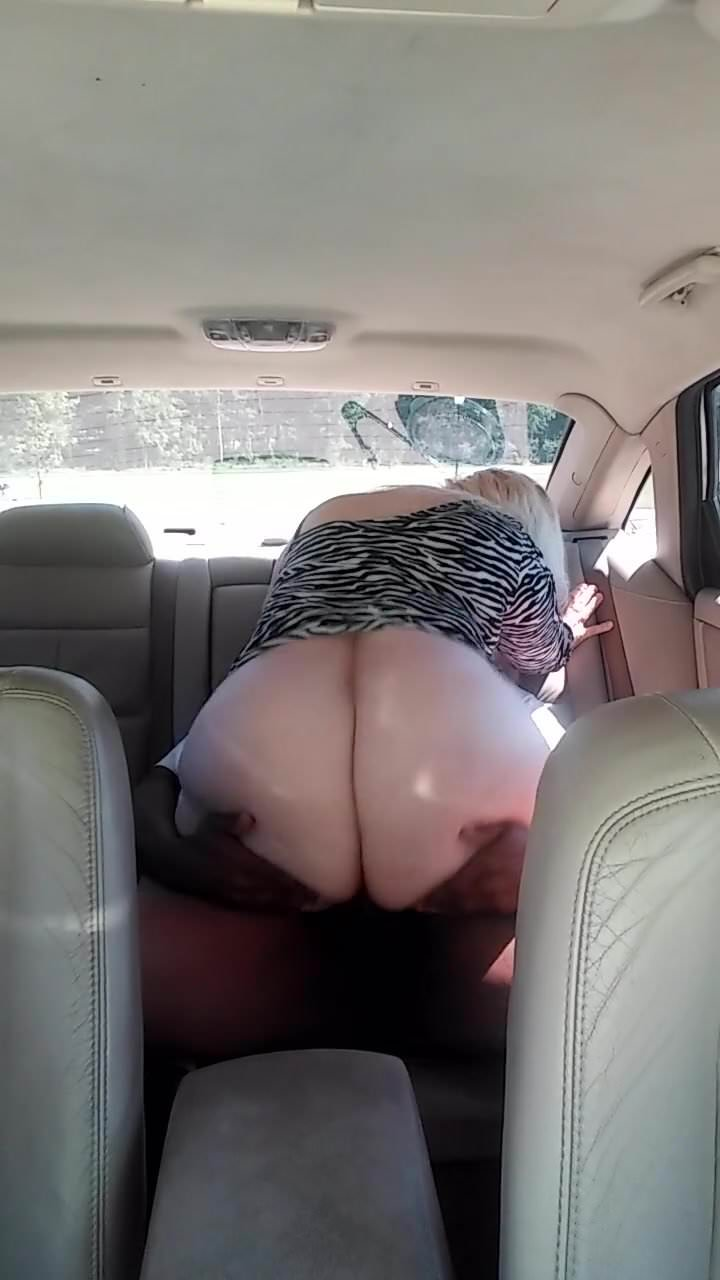 Ebony Parking Lot Blowjob