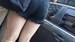 Candid Shorts Sexy Legs Hot Ass