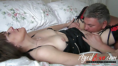 AgedLovE British Mature Hardcore Fuck and Blowjob