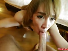 Stunning Ladyboy Going To College I Picked Up In Bangkok