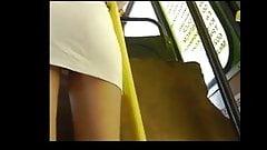 Upskirt On Blonde Panties  BVR