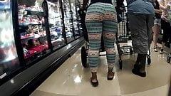 Big black ass yoga pants