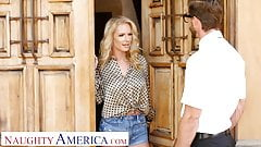 Naughty America - Rachael Cavalli fucks a virgin friend of h