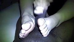 BLOW, HAND, FOOTJOB. pt 3(cumshot)