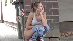 Babes Peeing Outdoor 6