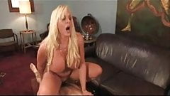Blond Mistress Fucks Slave For Pleasure
