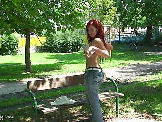 Wild public nude - Hot girl public nude