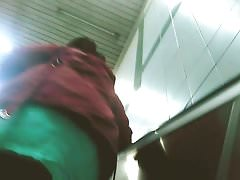 Blacked girl upskirt on escalator Thumbnail