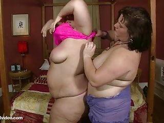 Big Tit Bbw Lesbians Lick Bellys Boobs And Booty