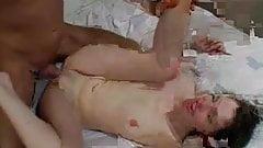 British babe Majella Shepard takes a hard cock