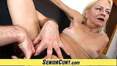 Old pussy close-ups of old nasty grandma Vera