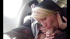 Blowjob On An Airline 's Thumb