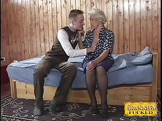 Preview 1 of Granny Loves Young Cocks