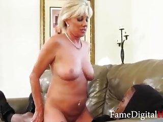 Banging hot blonde