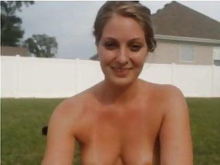 Blonde S Naked Garden Dare