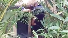Couple get caught