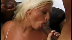Finnish blonde gets fucked by two black cocks's Thumb