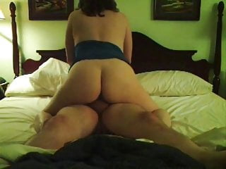 Mature wife rides hubby, part 1: cowgirl