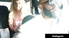 Big Butt Nina Kayy Gets A Big Black Dick With Her Boober App