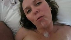 Hot facial on my friend