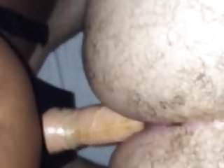My Gf pegging my ass