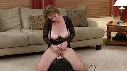 PEGGY: Older milf gets fucked on real homemade