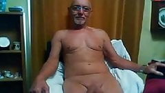 old man loves to show his big dick