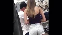 Hot Teen in Short Shorts