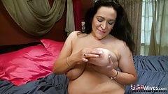 USAwives Mature Masturbation Compilation