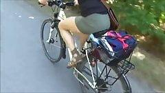 Biking Upskirt 1