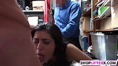 Officer Has A Hard Penis For Cutie Audrey