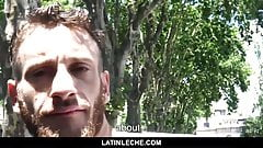 LatinLeche- Latin straight guy reluctantly fucks and sucks
