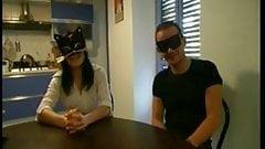 Masked Italian couple