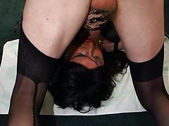 Michelle - cums in her own face