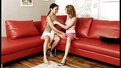 2 young lesbian friends