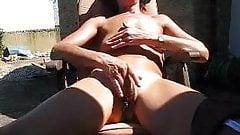 mature, skinny wife fingers big pussy