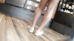 Blonde upskirt in miniskirt's Thumb