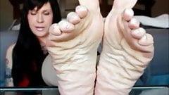 soles wrinkling