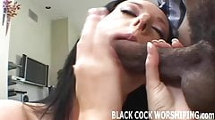 I know you love watching me riding a big black cock