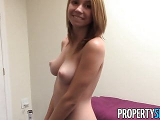 Propertysex Nudist Tenant With Amazing Natural Tits