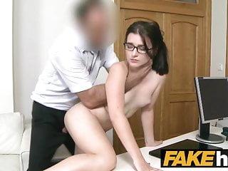 Download video bokep Fake Agent Tight amateur in glasses creampie porn casting Mp4 terbaru