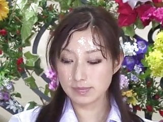 Yuu hakusho porn - Nishio kaori anzu yuu in japanese bukkake tv news