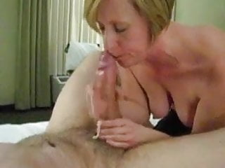 Hugely Hung White Guy Being Jacked By Milf Girlfriend