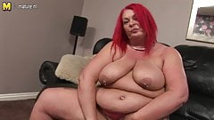 Mature BBW and her fat pussy