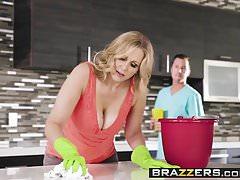 Mommy Got Boobs - Hooked On Bras scene starring Julia Ann  J