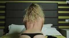 Delicate blonde amateur Shumina exposing her awesome body
