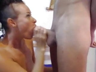 Preview 5 of Wife gives amazing BJ before getting eaten & facial