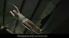 Sweet Mary blonde tied and used for bdsm fantasy